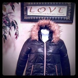 🔥SALE🔥 Michael Kors Faux Fur Puffer Jacket